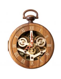 Ceas de perete din lemn -...