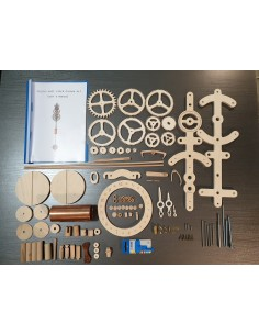 Wooden wall clock Cronos kit